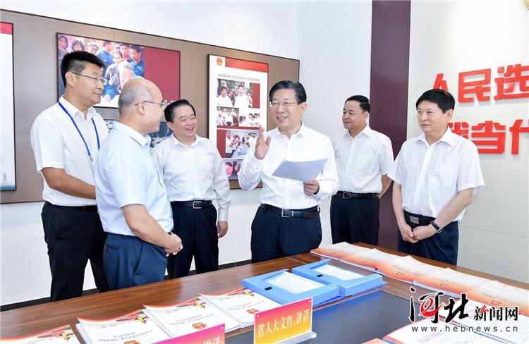 王东峰在正定县调研检查