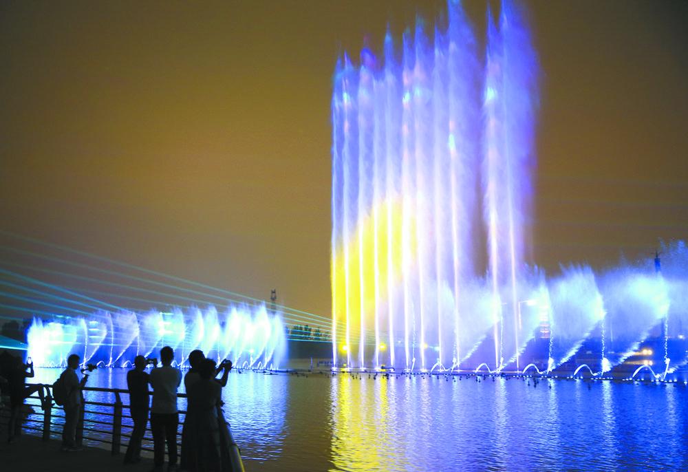 水景喷泉和灯光秀将于9月4日起向市民开放